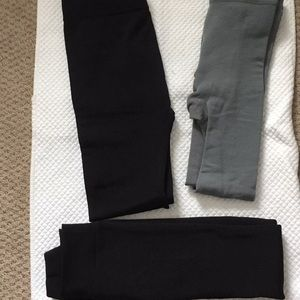 Leggings with Fleece Lining